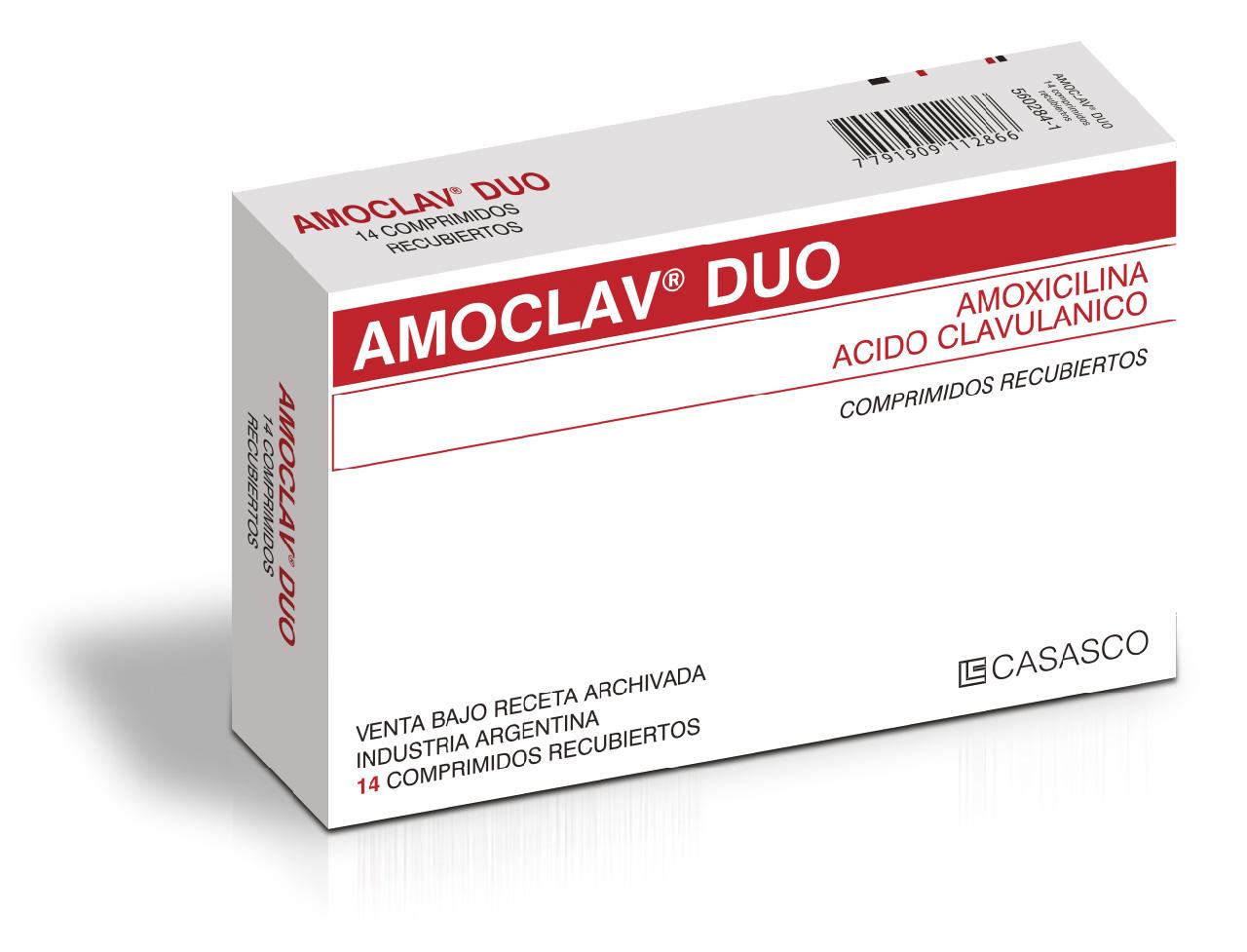 Amoclav Duo Laboratorios Casasco